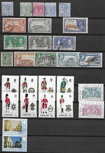 Gibraltar kleine Restepartie aus alter Sammlung