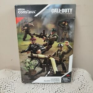 MEGA Construx Call of Duty Legends Allied Soldiers FMG15 NEW