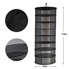 New Hanging Drying Net Large 8 Tier Dry Rack hydroponics Plant grow kit