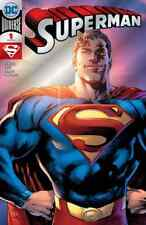 SUPERMAN 1 SDCC 2018 SILVER FOIL SAN DIEGO COMIC CON VARIANT NM PRE-SALE 7/25