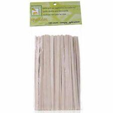 Clean+Easy Wood Applicator Spatulas (100) - Petite