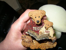 Cute Boyds Bears And Friends Ted And Teddy #2223 1993
