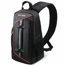 K&F Concept Camera Sling Shoulder Backpack Bag Case for Canon Nikon Sony DSLR