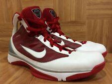 Nike Hyperize TB Neuf Taille:42,5 US:9 Blanc/Rouge Basket Basketball Jordan Kobe
