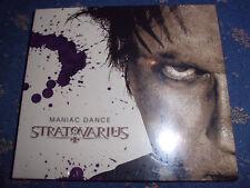 STRATOVARIUS Maniac Dance Symphonic Metal Maxi CD 5 Tracks inkl. Video NEU!!!