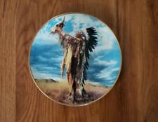 Prayer to the Great Spirit by Paul Calle Franklin Mint Collector Plate 1991