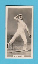CRICKET - BOYS MAGAZINE - RARE CRICKET CARD  NO. 5 -  WHITE OF SOMERSET -  1928