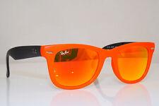 Authentic Vintage Ray-Ban Sunglasses Wayfarer RB 4105 6019/69 Folding 26262