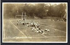 RPPC ~ Real Photo Postcard ~ College Men Tug Of War Sophmores On The Battle Line