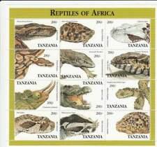 Tanzania postfris 1995 MNH sheet 2125-2136 - Schildpad / Turtle