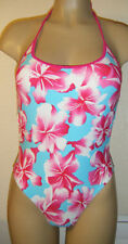 Unbranded Floral Halterneck Polyamide Swimwear for Women