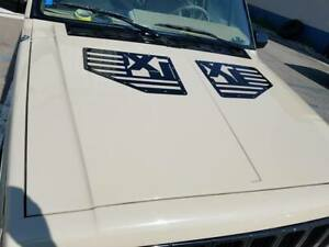 TMW XJ HOOD VENTS FITS: 1984 to 2001 Jeep Cherokee
