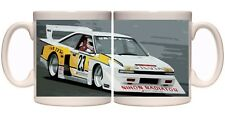 Nissan silvia s12 zx turbo super silhouette retro jdm race car 11oz ceramic mug