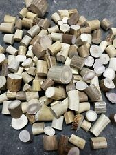 Deer Antler Bead Blanks - One Pound of Antler Pieces Suitable for Beads