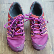 Women's Size 9 Merrell Select Fit Purple and Orange Hiking Shoes