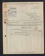 """DOLE (39) PRODUIT ANTI-ROUILLE """"Victor MALPAS"""" en 1946"""