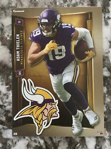 ADAM THIELEN Minnesota Vikings w/ Logo 2019 NFL Fathead Mini #28 - NEW