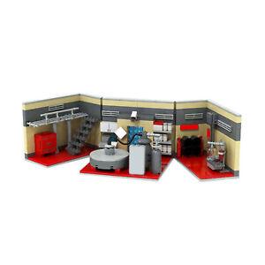 MOC-20608 Breaking Bad Lab Building Blocks Educational Toy Bricks for Kids