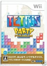 Used Wii Tetris Party Premium Nintendo JAPAN JP JAPANESE JAPONAIS IMPORT