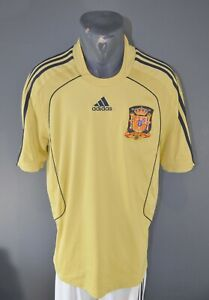 Spain National Football Soccer Team 2007/2008 Jersey Shirt Camiseta Size S 5/5