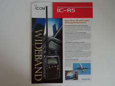 Icom-r5 (Genuino folleto sólo).......... radio_trader_ireland.