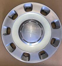 "Genuine Fiat 500 Silver Wheel Hub Caps 15"""