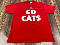 "Arizona Wildcats ""Go Cats"" Majestic Men's Red T-Shirt - Large"