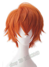 Mystic Messenger 707 Wig Short Halloween Cosplay Costume Chucky Wig for hair