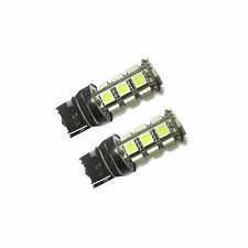 2x LED T20 3157 White 18x 5050 SMD To Fit Stop Brake Light Toyota Corolla E12