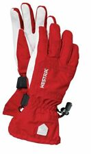 Hestra Czone Powder Ski / Snowboarding Gloves Red/Off White Size 8 Unisex