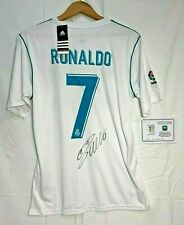 Signed CRISTIANO RONALDO Real Madrid 2018 Jersey w/ Tags & Authenticity Cert.