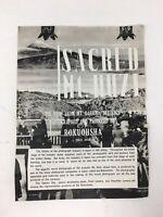 1939 Sacred Mt. Huzi Japan Brochure Pamphlet Rokuohsha Photography Photos Vtg