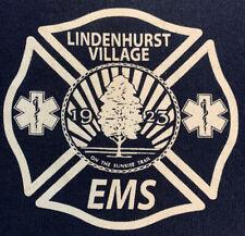 Lindenhurst Fire Department Suffolk Long Island NY T-Shirt XL EMS FDNY LAFD LFD
