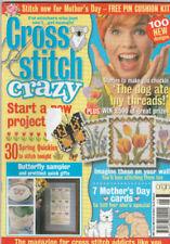 March Cross Stitch Crazy Craft Magazines