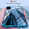 COVER per Huawei P40 Lite / Pro CUSTODIA ELECTRO + PELLICOLA VETRO TEMPERATO 9H