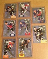 1996-97 FLEER NHL Hockey John LeClair Art Ross Trophy Insert Card #12  FLYERS