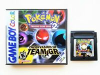 Pokemon Trading Card Game 2 - English Translated Gameboy Color GBC Cart / Case