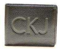 Portafoglio uomo pelle CK CALVIN KLEIN JEANS articolo CHK101 colore 999 nero