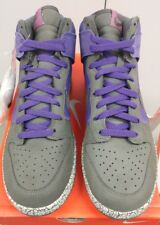 2007 Nike Dunk Men Shoe High Purple Quake Newsprint Earthquake 306968 501 9.5***