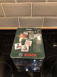 Bosch Quigo Cross Line Laser Level & Multi Clamp 0603663501