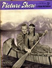 Picture Show Magazine 1684 Charlton Heston & Donna Reed The Far Horizons