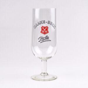 Haake-Beck Pils - 0,2L - altes Bierglas - Bremen - Bier - German Beer Glass