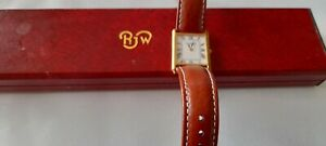 Raymond Weil unisex tank style watch good condition with box
