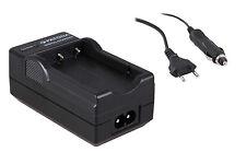 3 in 1 Carica Batterie Rete+Auto per NIKON EN-EL14 D3100 D3200 D3300 D5100 D5200