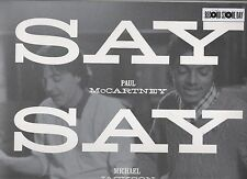 "Paul McCartney Michael Jackson Say Say Say 12"" Vinyl Single RSD 2015"