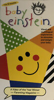 Baby Einstein Language Nursery Educational Visual & Multilingual VHS-TESTED-RARE