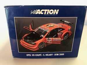 Action 1/18 Scale - AC8 004811 Opel V8 Coupe E. Helary DTM 2000 NIB