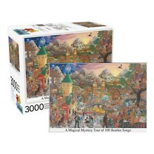 "Jigsaw Puzzle - Magical Mystery Tour Beatles Album - 3000 Piece - 22"" x 32"""