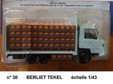 n° 30   BERLIET  TEKEL  Camion Transports DUMESNIL       1/43 Neuf en Boite