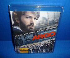 Argo Blu-Ray Ben Affleck, Bryan Cranston, Alan Arkin, John Goodman New!